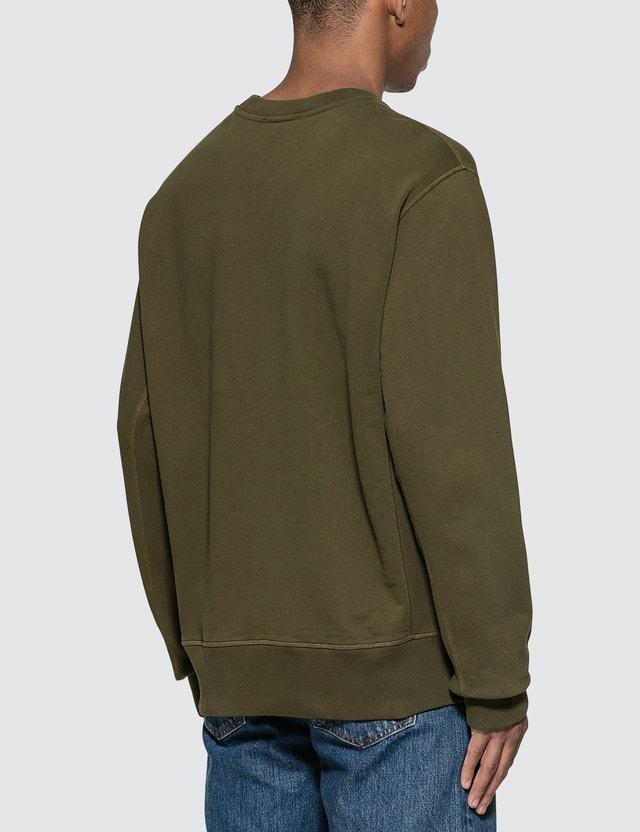 Helmut Lang Masc Crew Monogram Sweatshirt