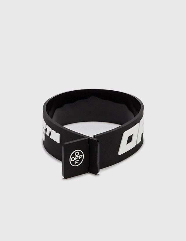 Off-White 2.0 Industrial Thin Bracelet Black Men