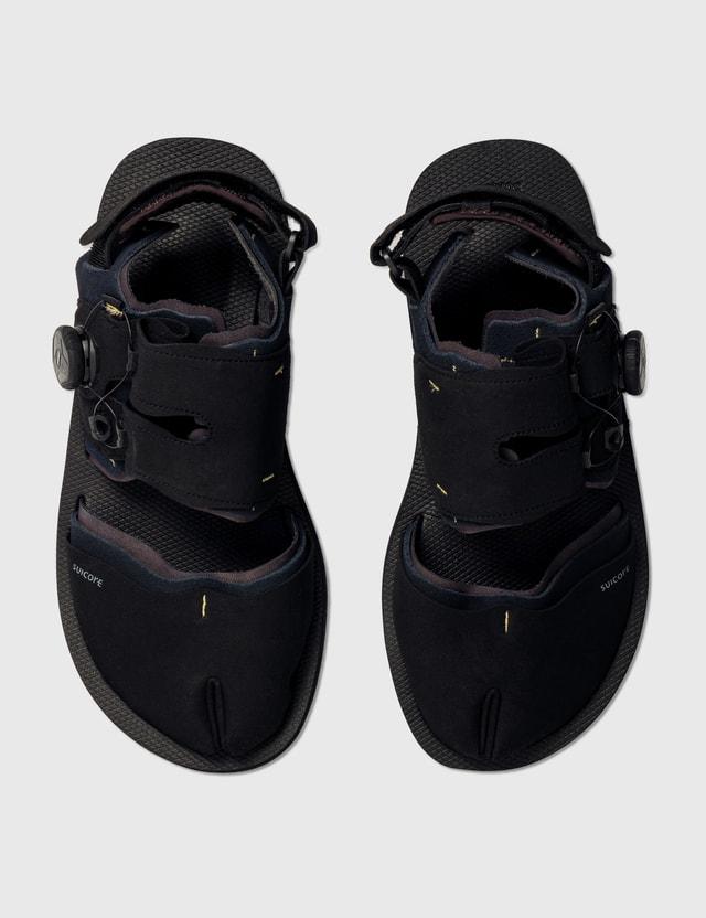 Suicoke HAKU-ab Sandals Black Men
