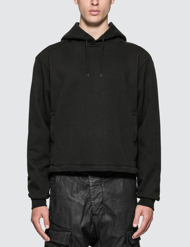 Stone Island Shadow Project Invert Hoodie With Zip-off Panel