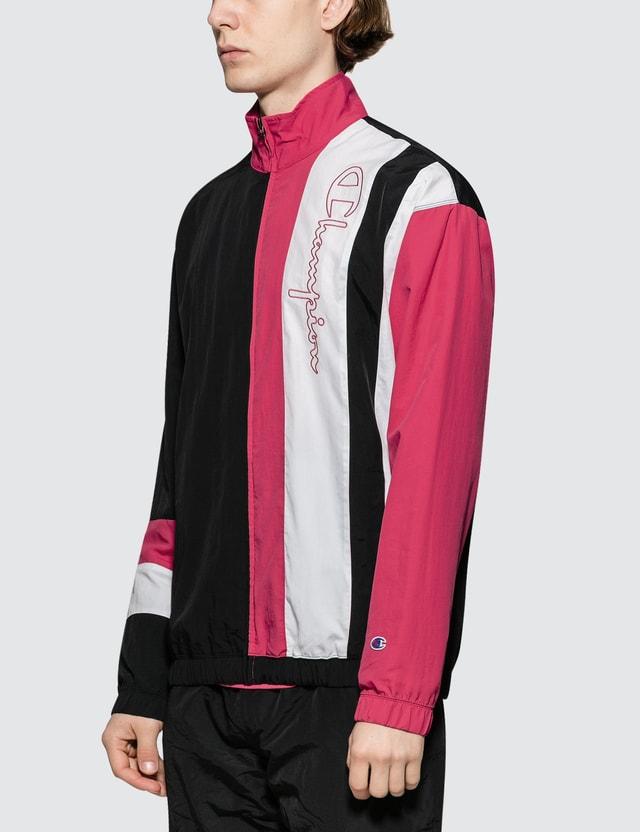Champion Reverse Weave Script Logo  Track Jacket