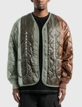 Pleasures Misery Panelled Quilted Jacket Picture