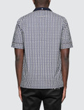 Valentino Optical Cotton Bowling Shirt