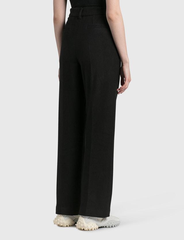 We11done Basic Zurry Trousers Black Women