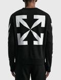 Off-White Mona Lisa Slim Crewneck Sweatshirt Black Men