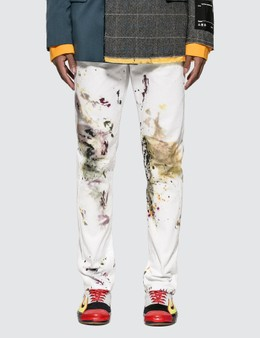 Off-White Diag Slim Peg Jeans