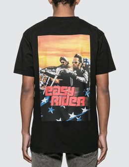 Marcelo Burlon Easy Rider Poster Basic T-shirt