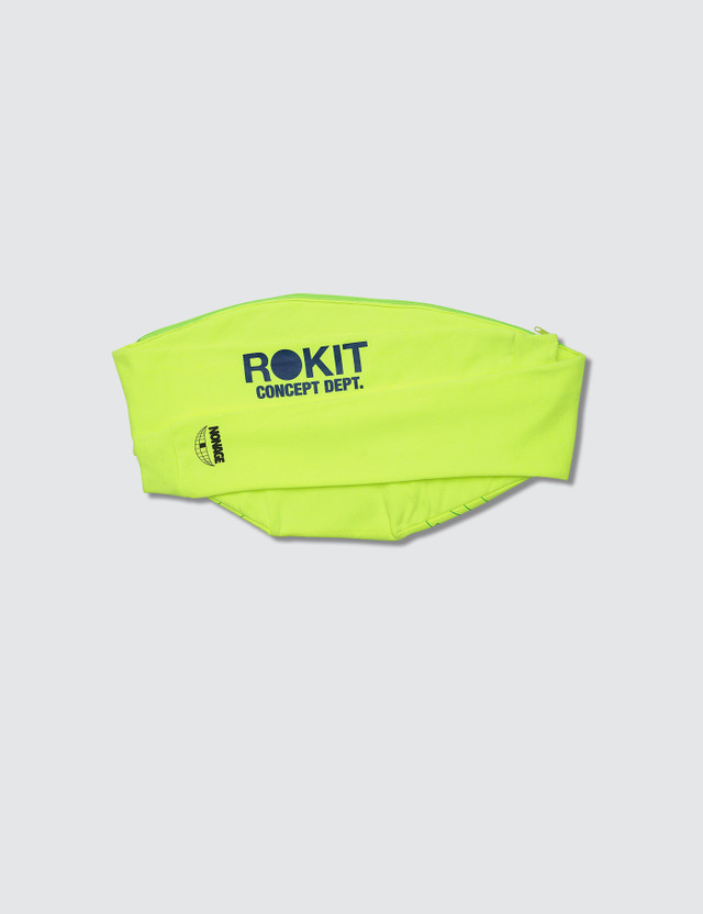 Rokit Nonage x Rokit MMRS Messenger Bag Lime  Men