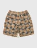 Burberry Check Debson Shorts Picutre
