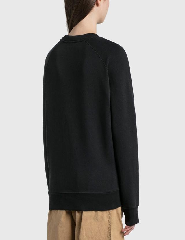 Maison Kitsune Chillax Fox Patch Classic Sweatshirt