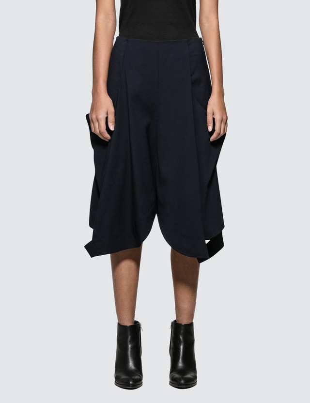 JW Anderson Cut Out Flared Short