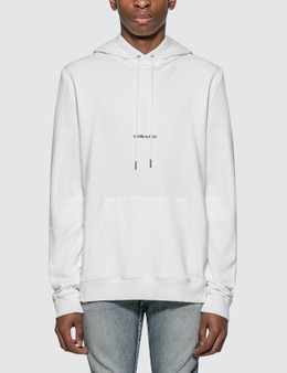 Saint Laurent Saint Laurent Logo Hoodie