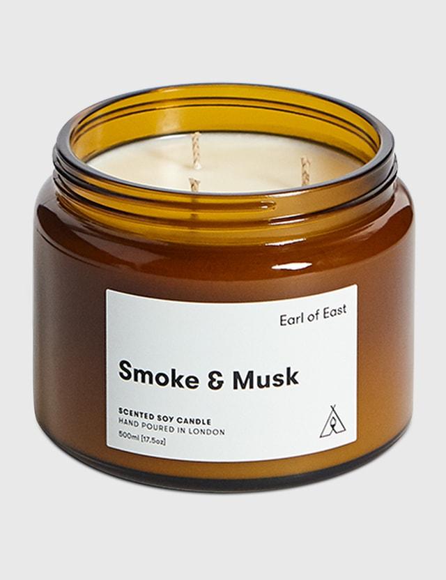 Earl Of East Smoke & Musk Soy Wax Candle N/a Unisex