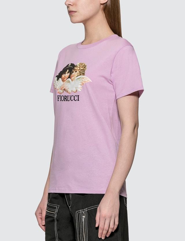 Fiorucci Vintage Angels T-shirt Lilac Women