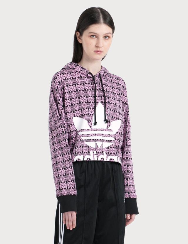 Adidas Originals Trefoil Allover Print Hoodie