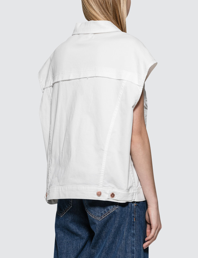 Aalto Sleeveless Denim Jacket