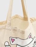 RIPNDIP Sliced Tote Bag Natural Women
