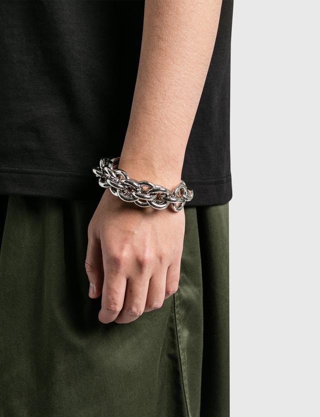1017 ALYX 9SM Mixed Chain Bracelet Silver Men