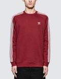 Adidas Originals 3-Stripes Crewneck Sweatshirt Picture