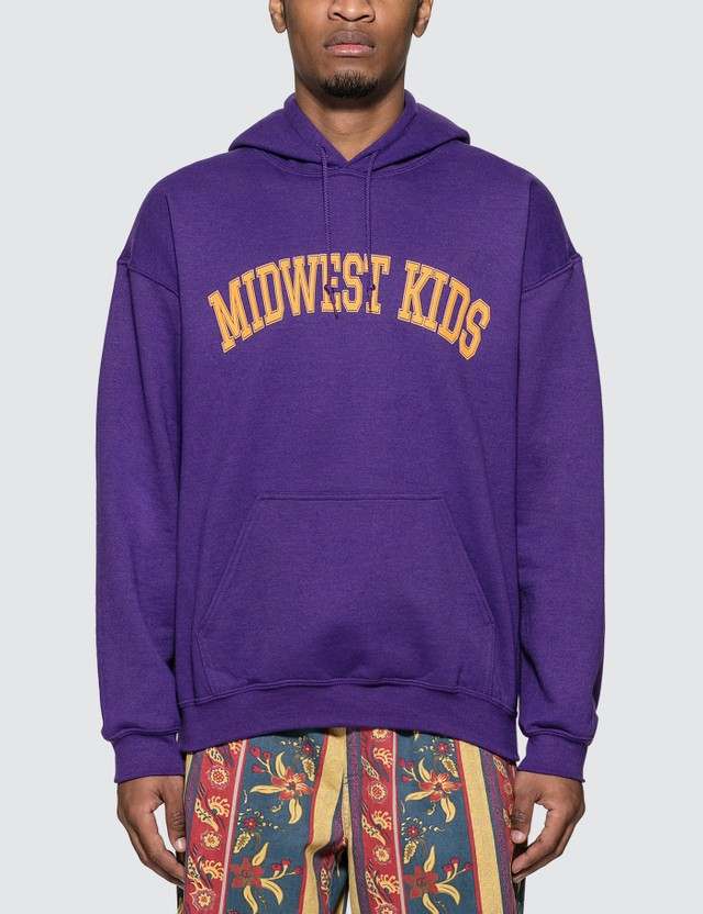 Midwest Kids Arch Logo Hoodie =e27 Men