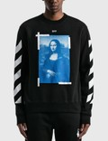 Off-White Mona Lisa Slim Crewneck Sweatshirt 사진