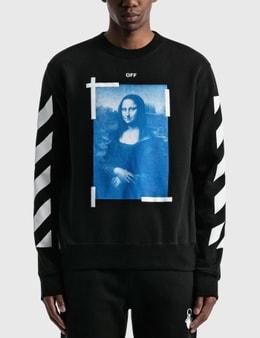 Off-White Mona Lisa Slim Crewneck Sweatshirt