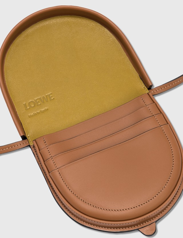Loewe Brand Heel Pouch Small