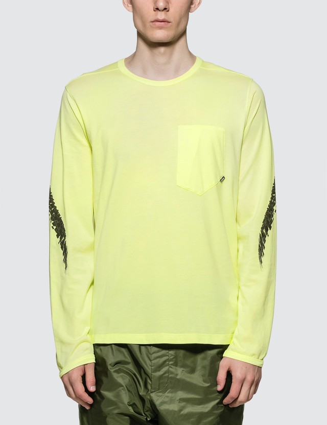 Stone Island Shadow Project Printed L/S Catch Pocket T-shirt