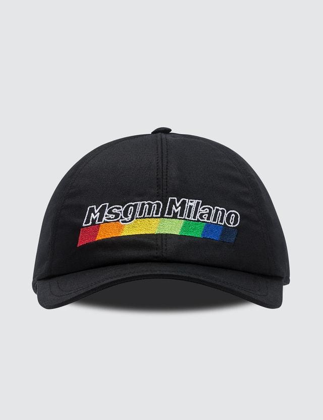 MSGM Milano Print Cap