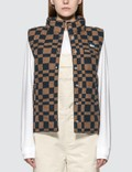 Stussy Sabi Checker Puff Vest Picture