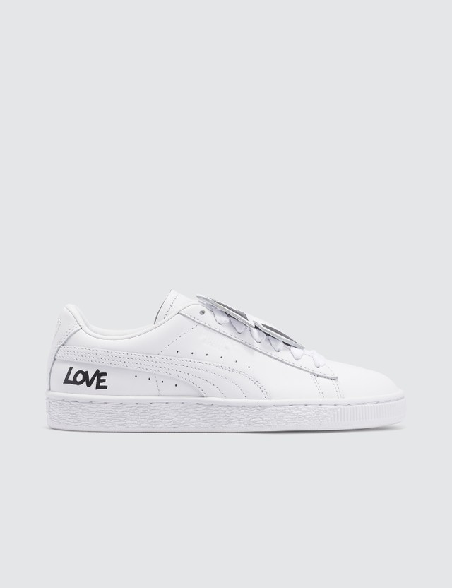 Puma Basket Badge HNDWRTTN Wn's Puma White-puma Black Women