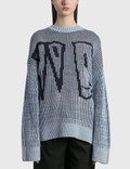 We11done WD Jacquard Sweater 사진