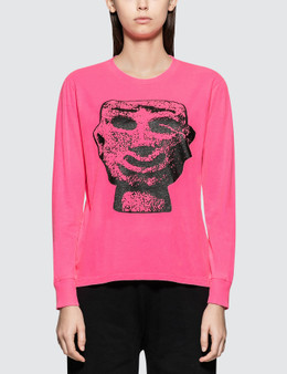 Ashley Williams Stone Head Long Sleeve T-shirt