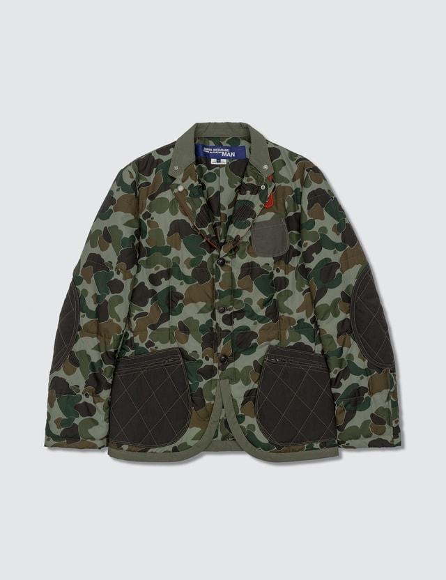 BAPE BApe X Junya Watanabe Man Laminated Cotton Jacket