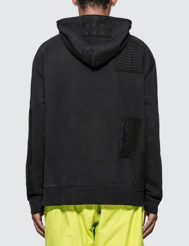 Vyner Articles Bandana Patchwork Hoodie
