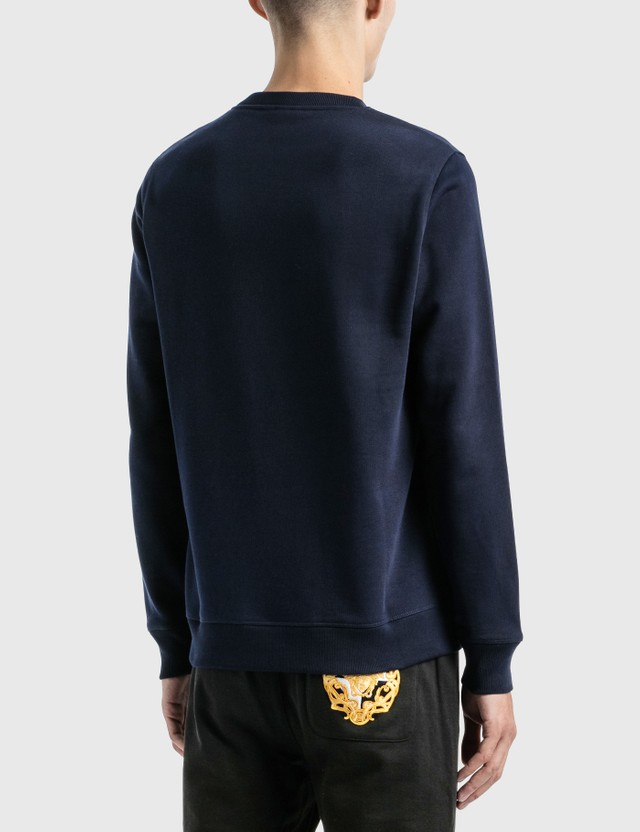 Loewe LOEWE Anagram Embroidered Sweatshirt Navy Blue Men