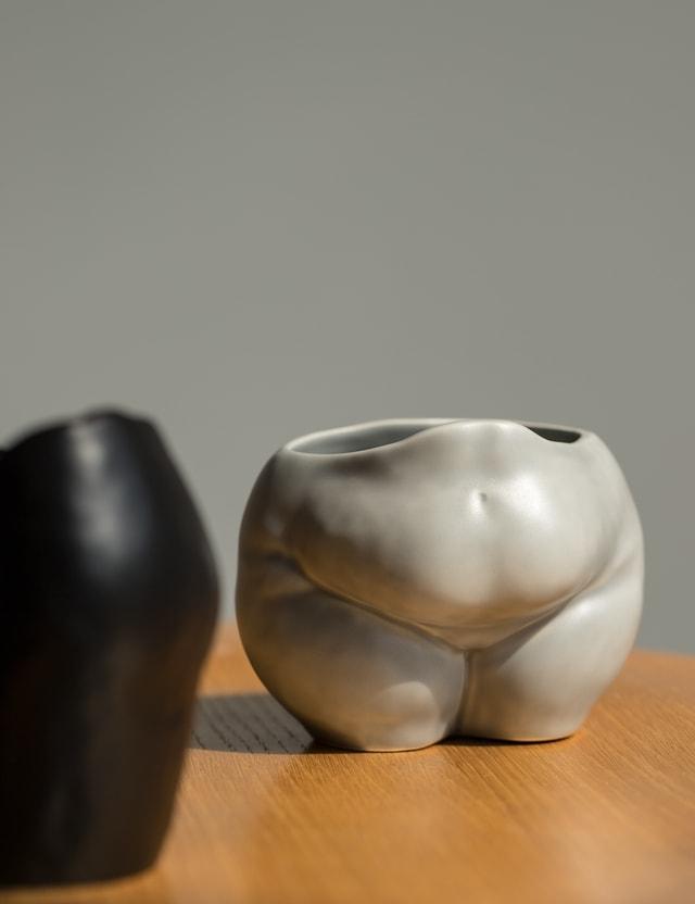 Anissa Kermiche Popotelée Pot Grey Matte Grey Matte Unisex