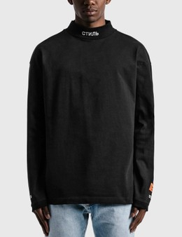 Heron Preston CTNMB Turtleneck Long Sleeve T-shirt