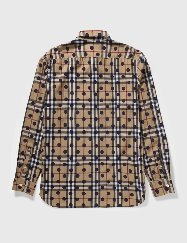 Burberry Burberry Polka Dot Shirt Brown Archives