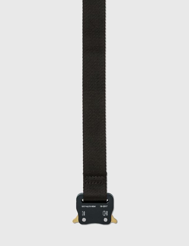 1017 ALYX 9SM Medium Rollercoaster Belt Black Men