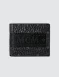 MCM Visetos Original Webbing Fold Wallet Picutre