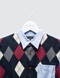 Comme des Garçons HOMME Argyle Knit Shirt