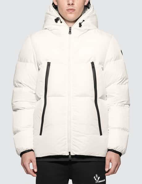 몽클레어 Moncler Nylon Down Jacket with Logo Hood