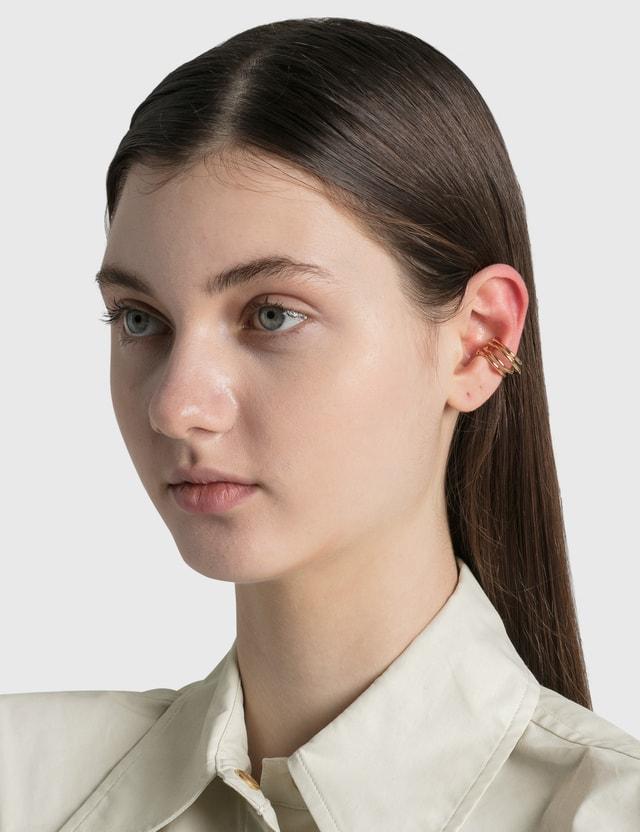 Completedworks Blast Ear Cuff Gold Women