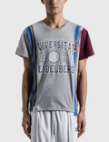 Needles 7 Cuts College Ss T-shirt Picutre