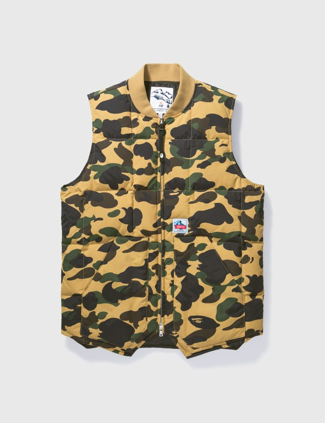 BAPE Bape Camouflage Zip Up Vest Camo Archives