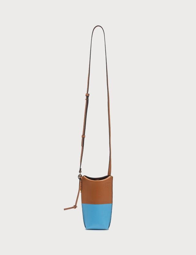 Loewe Colorblocked Gate Pocket With Shoulder Strap