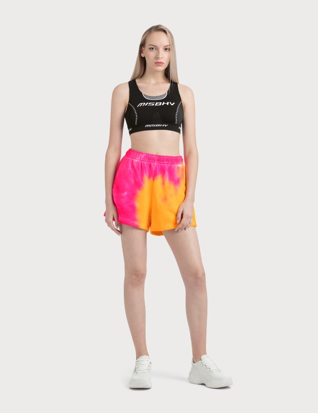 Misbhv Xtasea Spiral Tie Dye Shorts Multicolor Women