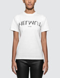 Helmut Lang Logo Hack Little Short Sleeve T-shirt Picture