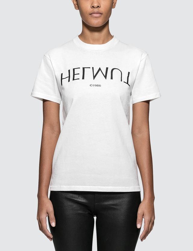 cc3daadd Helmut Lang - Logo Hack Little Short Sleeve T-shirt | HBX